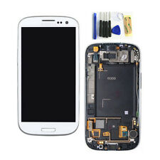 White For SAMSUNG GALAXY S3 i9300 LCD Digitizer Touch Screen Replacement & Frame