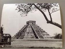 PHOTO MEXIQUE : TEMPLE , PYRAMIDE - Format 24x18cm