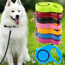 3m Pet Dog/Cat Puppy Automatic Retractable Traction Rope Walking Lead Leash AU