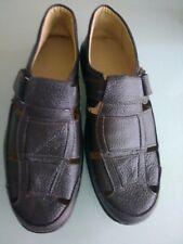 Para hombres Cuero Marrón Zapatos de la sandalia/, tamaño 8