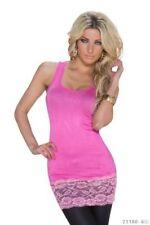 Camisas y tops de mujer de color principal rosa de viscosa/rayón talla 38