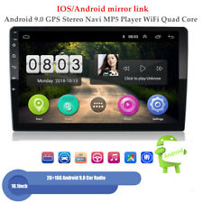 "10.1"" 2+16G Car Radio Android 9.0 GPS Navi MP5 Player WiFi Quad Core IOS/Android"