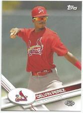 Delvin Perez St. Louis Cardinals 2017 Topps Pro Debut
