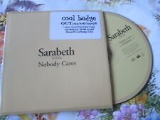 Sarabeth Tucek ‎– Nobody Cares Label: Echo ‎– RADCD201 Single Promo CD