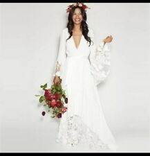 Vintage Boho Beach Wedding Dress