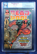 Deadpool #1 (1997 Marvel) PGX (not CGC) 9.4 NM Near Mint - Hey, It's Deadpool!!!