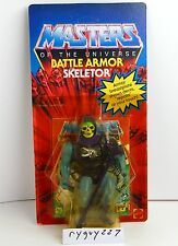 MOTU, Battle Armor Skeletor, sealed, Masters of the Universe, MOC, He-Man carded