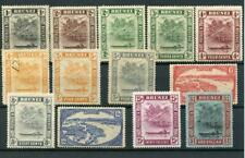 Brunei 1924-37 values to $1 MM cat £137 - see desc