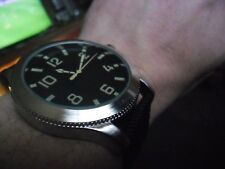 nice large gents 1950s russian naval diver military style quartz  watch