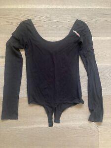 Body donna Diesel nero elasticizzato tg. M