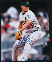 Andrew Bailey Oakland Athletics Baseball Autographed Signed 8x10 Color Photo