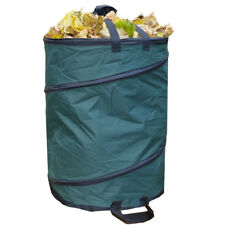 Gartenabfall-Sack wetterfest 600D Nylon 110L POP-UP Gartensack Laubsack Behälter