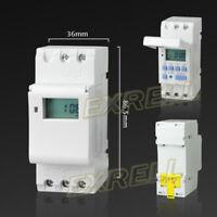 Digitale Timer Programmabile Settimanale Temporizzatore Display LCD 220V