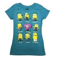 Despicable Me Movie Minion Talk Junior T-Shirt