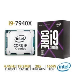 NEW Intel Core i9-7940X Skylake X 14-Core LGA 2066 DDR4 CPU SR3RQ