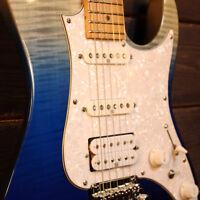 Ibanez AZ224F-BIG Premium Electric Guitar - Blue Iceberg Gradation  (NEW)