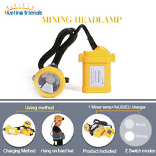 Wisdom Cap Lamp Model 4 4A Hard Hat Cordless Mine Light ~Free Shipping in US~