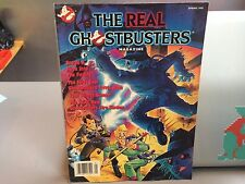 RARE THE REAL GHOSTBUSTERS MAGAZINE SPRING 1990 WITH POSTER VINTAGE RARE