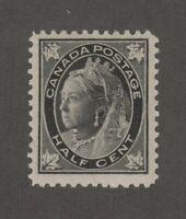 Canada 1/2c Maple Leaf Queen Victoria Scott #66 F-VF MNH