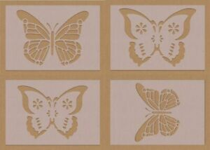 Fancy Butterfly  Mandala Fancy Stencil crafting craft decorating air brush