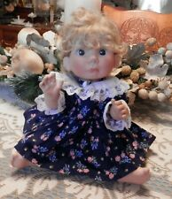 Navy Blue Middleton Doll Dress From Sample Sale At Factory-Doll Not Included