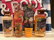 Bath & Body Works Margarita Cupcake Fragrance Mist Body Cream Lotion Gel X4 New