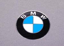 "BMW WHEEL CENTER CAP EMBLEM DECALS STICKERS 65MM OR 2.5"" SINGLE GENUINE NEW OEM"
