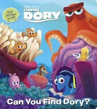 Lift-The-Flap: Can You Find Dory? by RH Disney (2016, Board Book)
