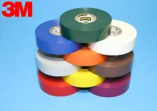 "9 COLORS 3M SCOTCH 35 VINYL ELECTRICAL TAPE  3/4"" X 66'"