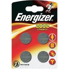 4 x Energizer Batterie CR2032 Lithium 3V Knopfbatterie CR 2032 1 x 4er Blister