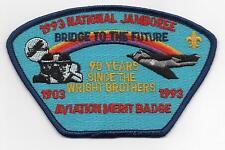 1993 National Jamboree, Aviation MB Staff JSP, Blue Brd., Mint!