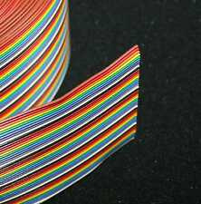50 x 26 Gauge MutliColored Ribbon cable - 1ft  Length