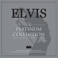 ELVIS THE PLATINUM COLLECTION 3 LP SET ON COOL WHITE VINYL - SPECIAL COLLECTOR'S