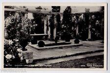 Ideal Home Exhibition 1954 Real Photo Postcard - Garden Landscape by Whiteleggs
