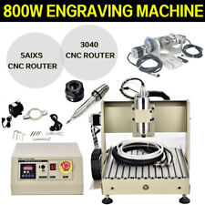 Usb 4 Axis Cnc Router 3040t Engraver 3d Engraving Drillingmilling Machine 560w