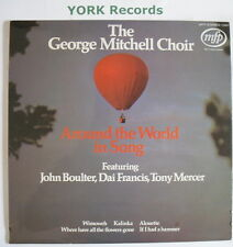 GEORGE MITCHELL CHOIR - Around The World In Song - Ex Con LP Record MFP 1391