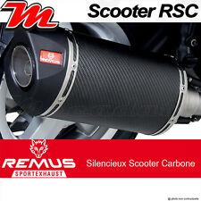 Pot échappement Remus RSC Carbone Vespa LX 125 i e 3V 12 Touring > avec Cat.
