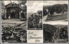1959 Stempel SUDERODE a/ AK Hexen-Tanzplatz Harz DDR