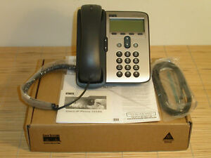 NEU Cisco CP-7912G-CH1-A VoIP Unified IP Phone with User Licence Phone NEW OPEN