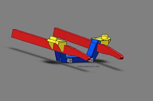 #18 MUSTANG II FRONT SUSPENSION PLANS Hot rod - Hot rod 3D Blueprints