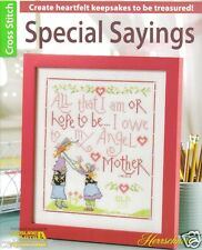 Special Sayings  ~ Cross Stitch Book ~ Herrschner's  ~ Leisure Arts ~ NEW BOOK