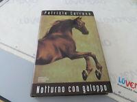 Book - Patrizia Carrano - Night With Galloping - Cover Hard Good Stato