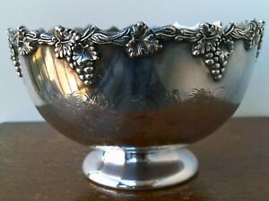 "Antique Edwardian (1900-10) "" Silver Plated"" Decorative  Bowl."