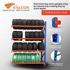 1.5mWx0.6mDx2.4mH,Tyres Storage Racks Stands Shelf Shelves Shelving Racking, A
