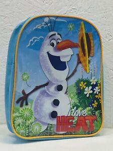 DISNEY FROZEN OLAF SCHOOL BAG KIDS TODDLER NURSERY BACKPACK TRAVEL BAG GIFT