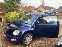 VW Beetle, 2003, 1.8 litre Turbo, 20 valve petrol, MOT failure