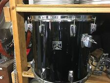 "Vintage Piano Black Tama Superstar 15"" Floor Tom Drum"