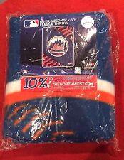 Mets Blanket Fleece Throw  Souvenirs  Baseball Sports