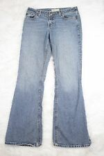 The Buckle BKE Jeans Sassy Long Boot Cut Distressed Medium Wash Womens Size 29