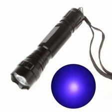 UV WF-501B CREE LED 365NM Blacklight Flashlight Torch 18650 Alumium Light Lamp